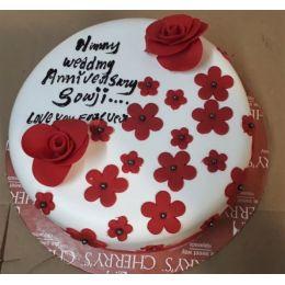 Fondant_Flower_cake